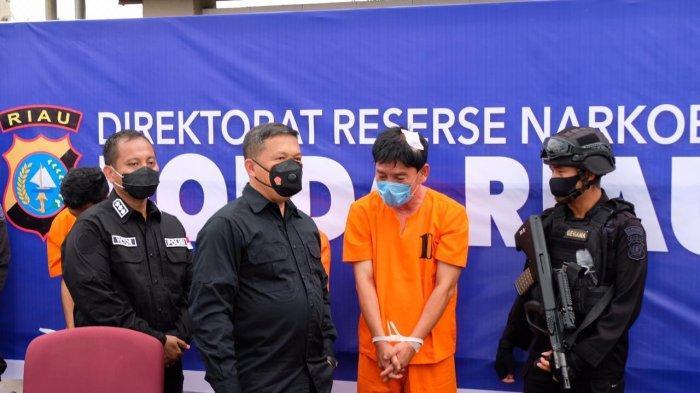 Agresif dan Lebih Tegas Berantas Narkoba, Polda Riau Kembali Ungkap Kasus 36 Kg Sabu