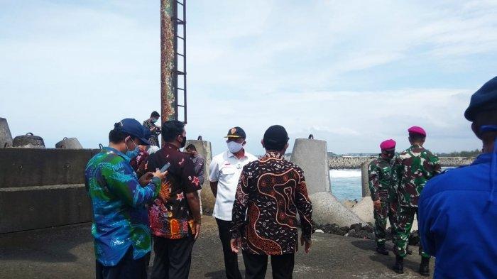 Kemenko Polhukam RI Lakukan Peninjauan di Tanjung Adikarto Kulonprogo