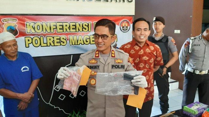 BREAKING NEWS: Polisi Amankan Warga Magelang Membawa Senpi di TPS Pilkades
