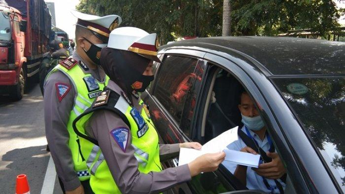 Empat Hari Penyekatan, 211 Kendaraan Pemudik yang Mau Masuk Klaten Diminta Putar Balik ke Yogyakarta