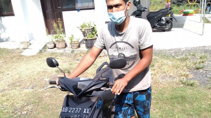 Gelapkan Motor Majikan, Warga Pengasih Kulon Progo Dibekuk Polisi