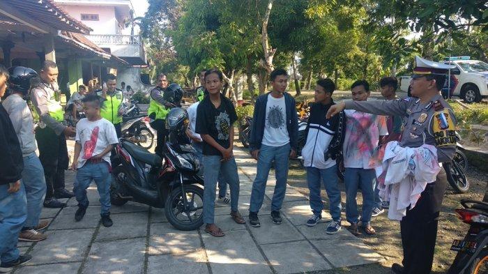 Digeruduk Polisi, Konvoi Pelajar di Kulonprogo Langsung Bubar
