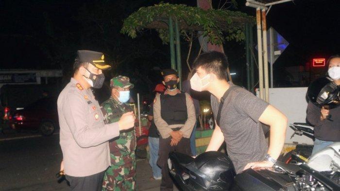 Polres dan Kodim 0730 Gunungkidul Gencarkan Patroli dan Sosialisasi PPKM Darurat