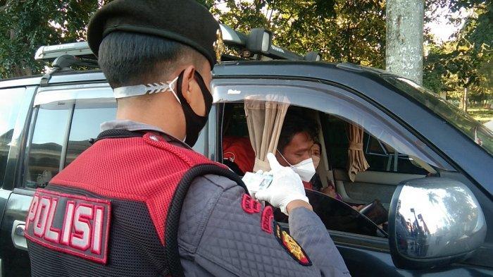 Polres Klaten Gelar Razia Kendaraan di Prambanan Perbatasan Jateng-DIY