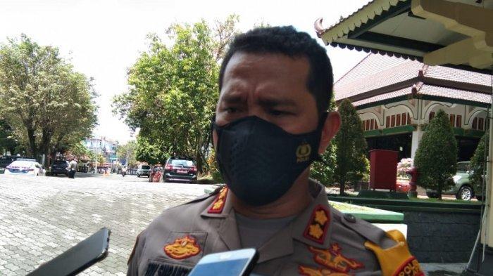 Kapolres Klaten AKBP Edy Suranta Sitepu saat ditemui di komplek petkantoran Pemkab Klaten, Rabu (31/3/2021).