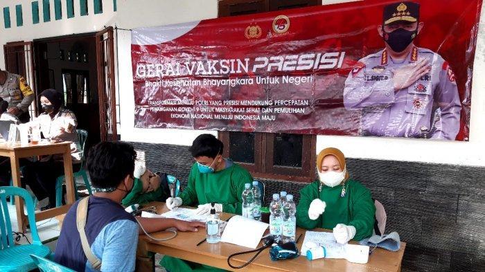 Polres Magelang Buka Gerai Vaksin Presisi untuk Masyarakat yang Belum Disuntik Vaksin Covid-19