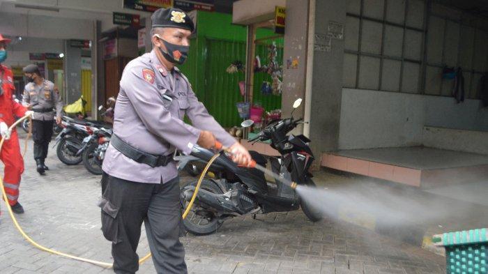PPKM Diperpanjang, Polresta Magelang Kota Tingkatkan Disinfeksasi