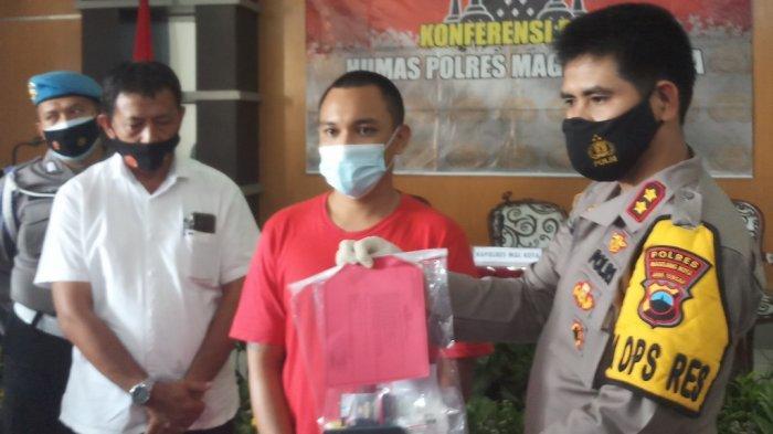 Polres Magelang Kota Berhasil Ungkap Kasus Pengedaran Narkoba