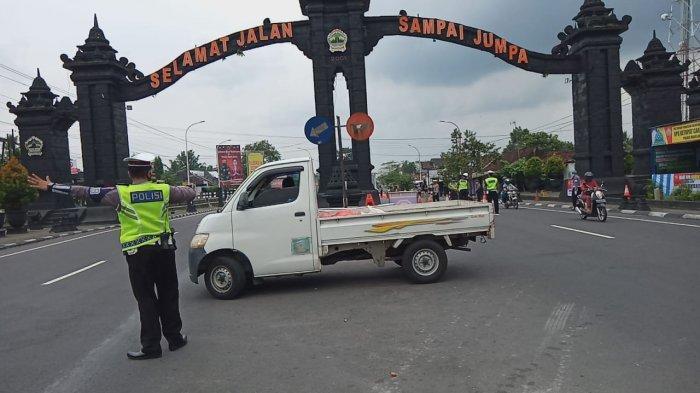 Penyekatan di Perbatasan Jateng-DIY di Magelang, 95 Kendaraan Diminta Putar Balik