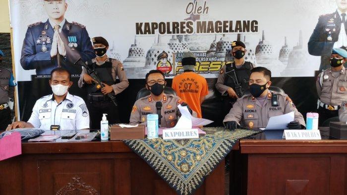 Polres Magelang Berhasil Meringkus Pengedar Sabu Asal Semarang