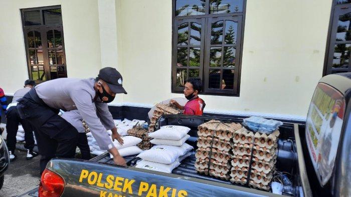 Polres Magelang Salurkan 4.500 Paket Sembako untuk Masyarakat Terdampak PPKM Darurat