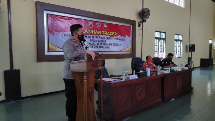Polres Magelang Siapkan Petugas Tracer Selama Pemberlakuan PPKM Darurat