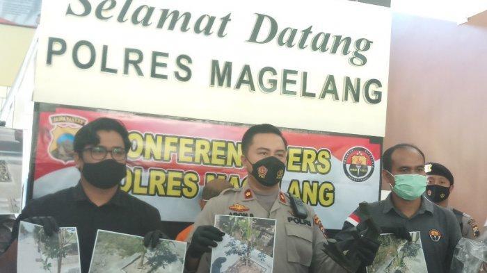 Polres Magelang Tangkap Pelaku Pencurian Besi Tree Gate pada Proyek KSPN Borobudur