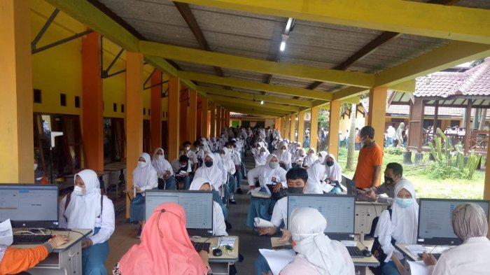 Polresta Magelang Gelar Vaksinasi Massal di SMA Negeri 4 Kota Magelang