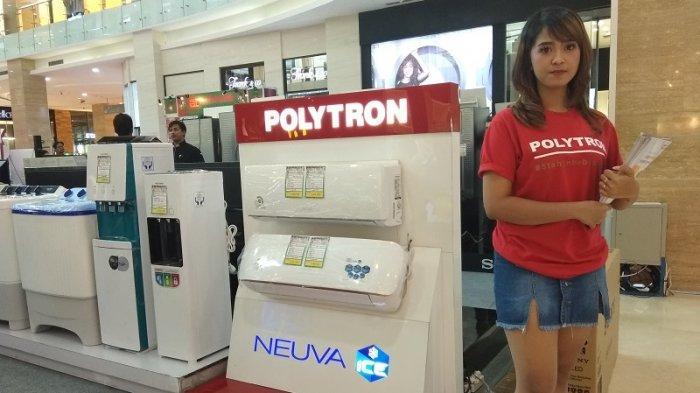 Polytron Berikan Harga Spesial, Kulkas Dua Pintu Mulai Rp 2,5Jutaan Free Merchandise