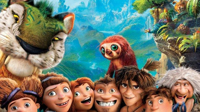 Poster Film The Croods