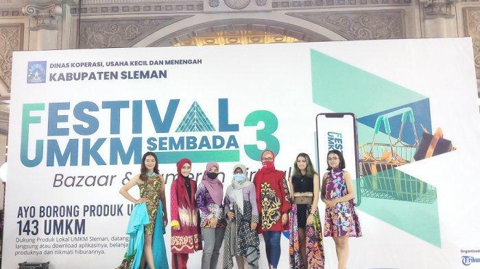 Potensi Muda Unjuk Bakat di Panggung Festival UMKM Sembada 3