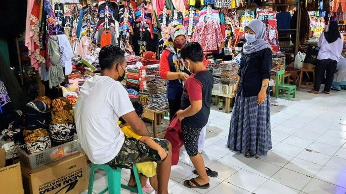 PPKM Turun Level, Aktivitas Pasar di Wonosari Gunungkidul Mulai Meningkat