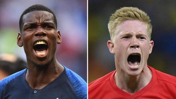 Prancis vs Belgia, BABAK I: 0-0