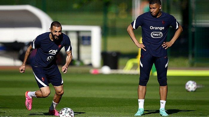 Kabar Buruk untuk Pengemar Timnas Prancis EURO 2020, Benzema Cedera