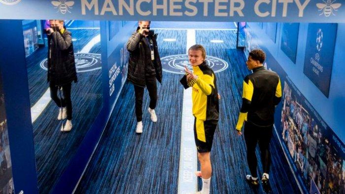 Live Streaming Perempat Final Liga Champions, City vs Dortmund, Adu Tajam Aguero dan Haaland
