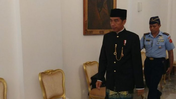 Presiden Jokowi Panggil Puluhan Perwira TNI-Polri di Istana Kepresidenan