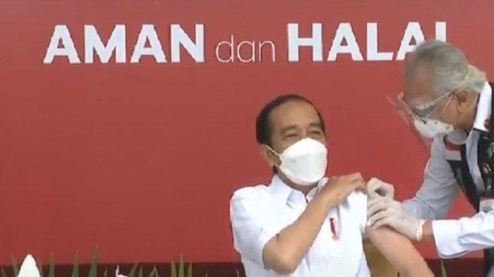 Presiden Jokowi Targetkan Vaksinasi Covid-19 Tembus 1 Juta Perhari pada Juli Mendatang