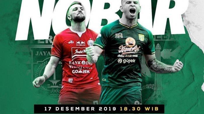 Live Streaming Persija vs Persebaya - Kick Off Pukul 18.30 WIB, Live Liga 1 Indosiar LINK di Sini