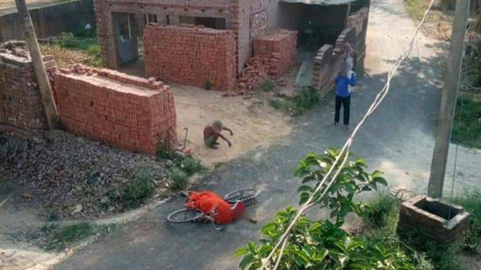 TSUNAMI Covid-19 di India: Kisah Pria 70 Tahun Terpaksa Bawa Jenazah Istrinya dengan Sepeda