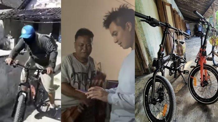 Pria Asal Klaten yang Gowes ke Jakarta untuk Ketemu Baim Wong Dapat Hadiah 3 Sepeda dari Sang Idola