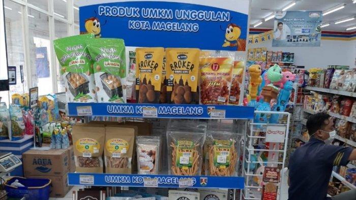 Perluas Pemasaran, Produk UMKM Kota Magelang Kini Bisa Didapatkan di Retail Waralaba