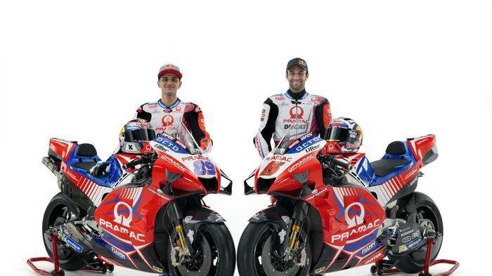 UPDATE Jelang MotoGP 2021, Profil Motor dan Pembalap Tim Pramac Racing Ducati Musim 2021