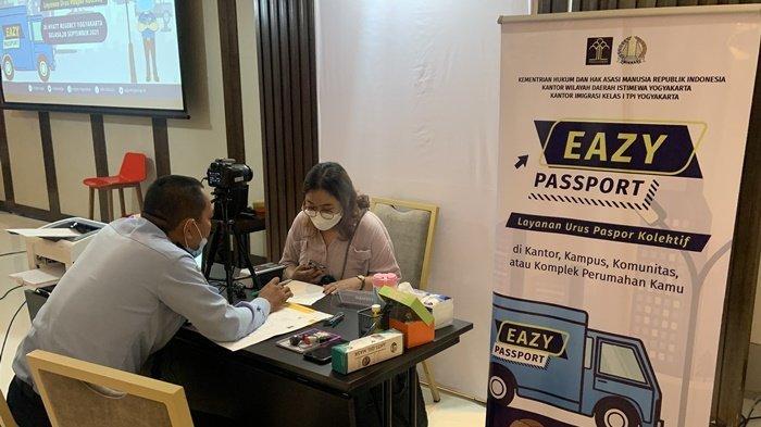 Program Eazy Passport Kantor Imigrasi Yogyakarta Mudahkan Masyarakat Urus Paspor