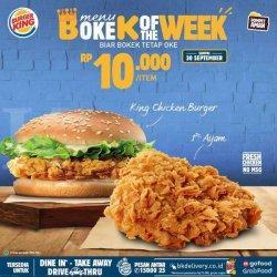 Promo Burger King September 2020 Asyik 5 Burger Hanya Rp 75 Ribu Tribun Jogja