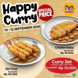 Asik! Promo HokBen Happy Curry Periode 10-12 September 2020, Baru Mulai