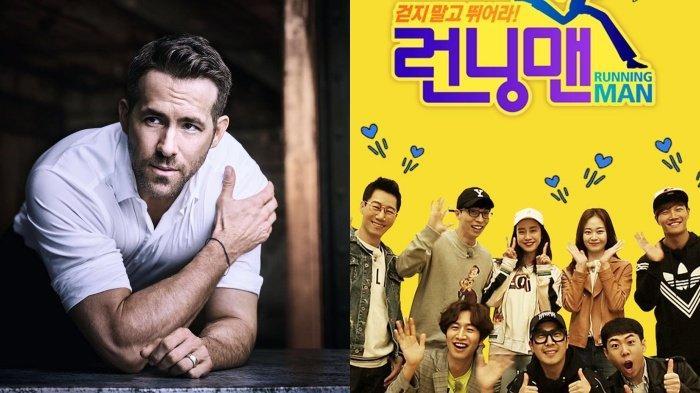 Demi Promosi Film 6 Underground, Ryan Reynolds Dijadwalkan Sambangi  Variety Show Korea Running Man