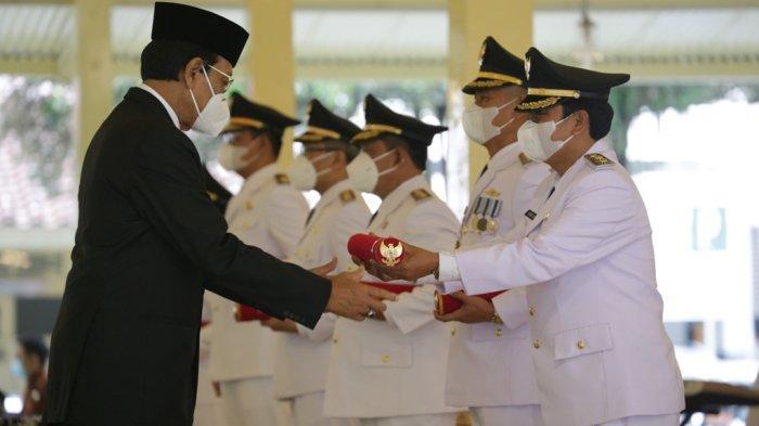 Ini Pesan Sri Sultan Hamengku Buwono X Kepada Bupati dan Wakil Bupati Terpilih di DI Yogyakarta