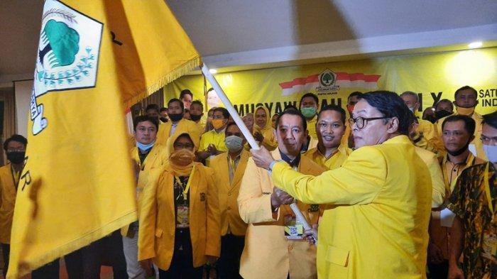 Agus Mulyono Terpilih sebagai Ketua DPD II Golkar Kota Yogyakarta