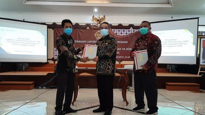 Pemkab Bantul Raih Opini WTP dari BPK untuk Kali Kesembilan
