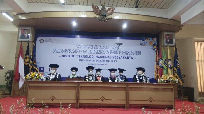 ITNY Mewisuda 265 Mahasiswa Secara Daring