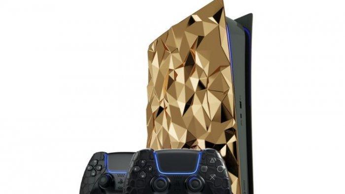 Fenomenal, Ada PS5 Edisi Khusus Dilapisi Emas Seberat 4,5 Kilogram, Ini Penampakannya