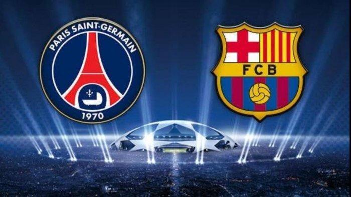 Live Streaming SCTV Liga Champions PSG vs BARCELONA - Prediksi Skor Formasi Line Up H2H