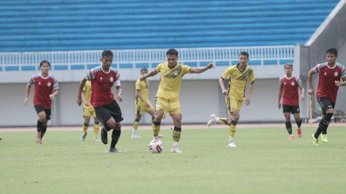 PSIM Yogyakarta Ditekuk Sulut United 1-4 dalam Laga Uji Coba