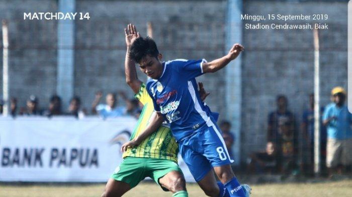 Hasil Liga 2 2019 : PSIM Yogyakarta Kalah Lagi, Takluk di Kandang PSBS Biak 1-0