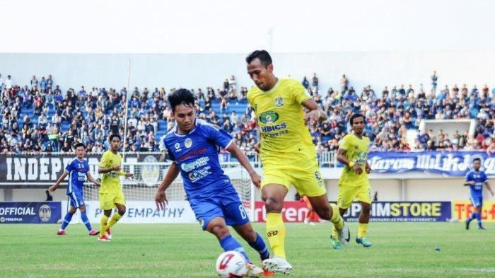 Sepasang Gol Pemain Anyar Tegaskan Dominasi PSIM Yogyakarta Atas Persiba Balikpapan