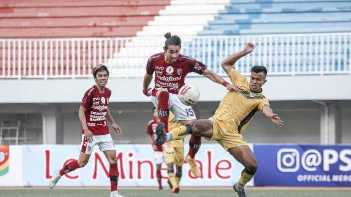 PSIM Yogyakarta Tahan Imbang 1-1 Bali United pada Laga Uji Coba Kedua Tour de Java