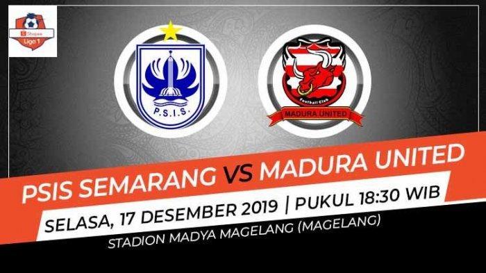 LINK Live Streaming Liga 1 PSIS Semarang vs Madura United - Kick Off Pukul 18.30 WIB, Live O'Channel