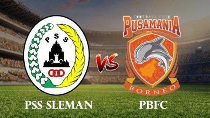 LINK Live Streaming PSS Sleman vs Borneo FC - Jadwal Kick Off dan Prakiraan Starting Line Up