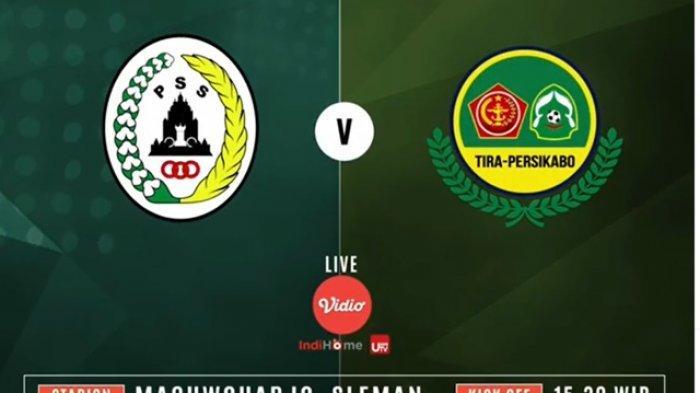 PSS Sleman vs PS Tira Persikabo : Berikut Daftar Susunan Starting XI Kedua Tim Sore Ini