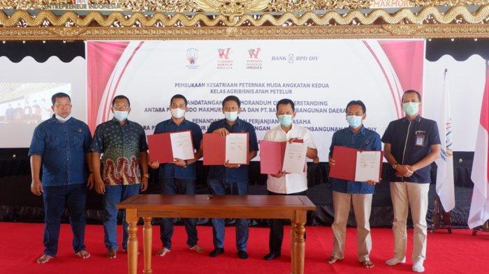Ciptakan Entrepreneur Muda, Bank BPD DIY Bersinergi dengan PT Widodo Makmur Perkasa